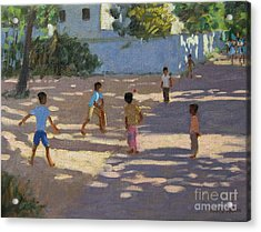 Cochin Acrylic Print by Andrew Macara