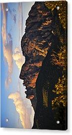 Cochise Head Acrylic Print