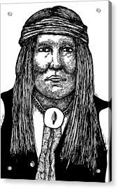 Cochise Acrylic Print by Karl Addison