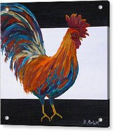 Cock-a-doodle-doo Acrylic Print