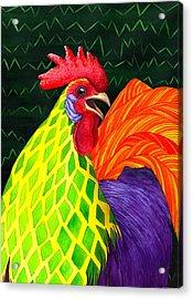 Cock A Doodle Dude II Acrylic Print