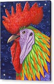 Cock A Doodle Dude IIi Acrylic Print