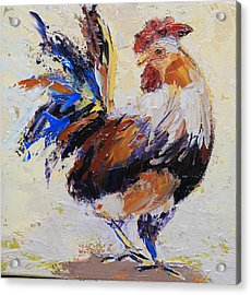 Cockrell Two Acrylic Print by Yvonne Ankerman