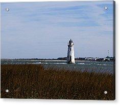 Cockspur Lighthouse Acrylic Print