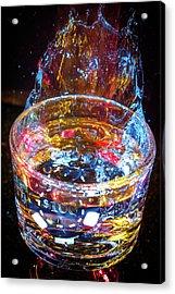 Cocktail Chip Acrylic Print by Mark Dunton