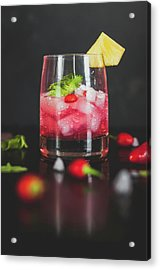 Cocktail Acrylic Print by Happy Home Artistry