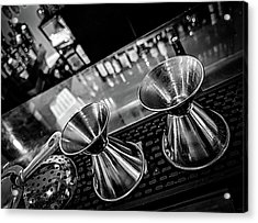 Cocktail Preparation Acrylic Print