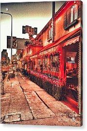West Los Angeles Cocktail Row Acrylic Print