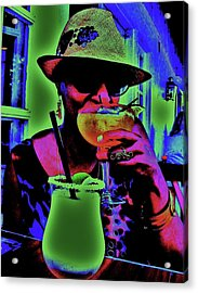 Cocktails Anyone Acrylic Print by Diana Dearen