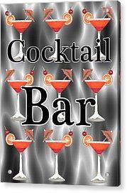 Cocktails Acrylic Print