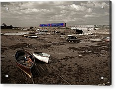 Cockwood Harbour Acrylic Print by Rob Hawkins
