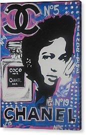 Coco Dandridge Acrylic Print