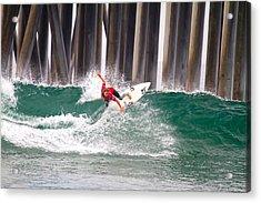 Coco Ho Surfer Girl Acrylic Print