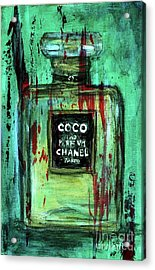 Acrylic Print featuring the painting Coco Potion by P J Lewis