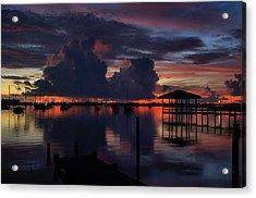 Cocoa Bay Acrylic Print