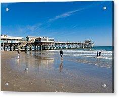 Cocoa Beach Florida Acrylic Print by Allan  Hughes