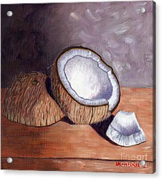 Coconut Anyone? Acrylic Print