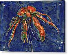 Coconut Crab Acrylic Print