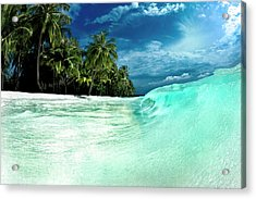 Coconut Water Acrylic Print