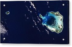 Cocos Islands Acrylic Print by Adam Romanowicz