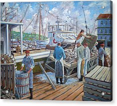 Cod Memories Acrylic Print by Richard T Pranke