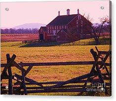 Codori Barn Gettysburg Acrylic Print by Eric  Schiabor