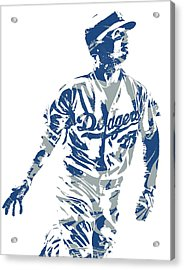 Cody Bellinger Los Angeles Dodgers Pixel Art 20 Acrylic Print