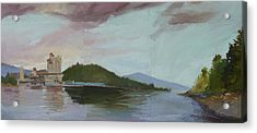 Coeur D Alene Lake    North  Idaho Acrylic Print