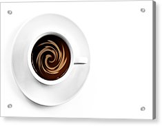 Acrylic Print featuring the photograph Coffee And Cream by Gert Lavsen