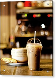 Coffee Bar Atmosphere Acrylic Print