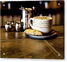 Coffee Bar Acrylic Print