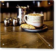 Coffee Bar Acrylic Print