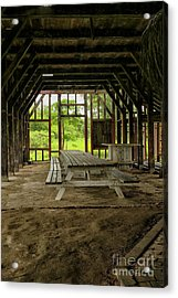 Coffee Barrack, Peperpot, Suriname. Acrylic Print by Patricia Hofmeester