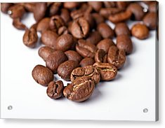 Acrylic Print featuring the photograph Coffee Beans by Gert Lavsen