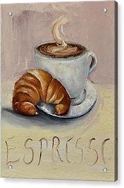 Coffee Break Acrylic Print