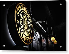 Coffee Break Acrylic Print by Spencer McDonald