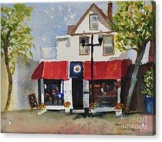 Coffee Co. Ocean City New Jersey Acrylic Print