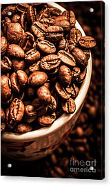 Coffee Cup Top Up Acrylic Print by Jorgo Photography - Wall Art Gallery