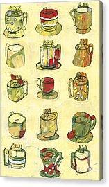 Coffee For Fifteen Acrylic Print