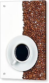 Acrylic Print featuring the photograph Coffee by Gert Lavsen