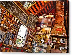 Coffee House Acrylic Print by Rich Leighton