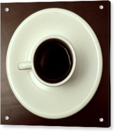 Coffee Acrylic Print by John Gusky