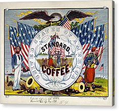 Coffee Label, C1862 Acrylic Print by Granger