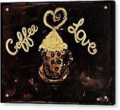 Coffee Love Acrylic Print