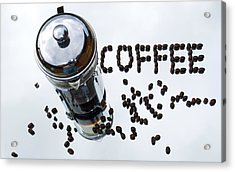 The Aroma Of Fresh Coffee Acrylic Print by Dave Byrne