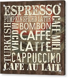 Coffee Of The Day 2 Acrylic Print