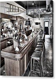 Coffee Shop Acrylic Print by Greg Jackson