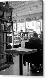 Coffee Shop Acrylic Print by Randy