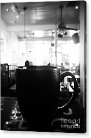 Acrylic Print featuring the photograph Coffee Shop by Utopia Concepts