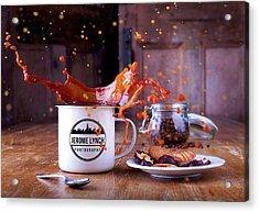 Coffee Splash Acrylic Print